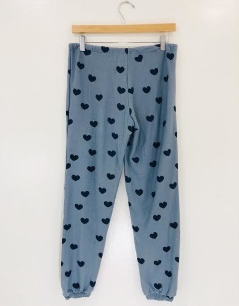 Chaser Brand Chaser Brand Blue Hearts Cozy Knit Pant