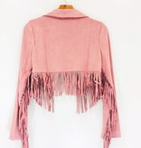 Wild Honey Wild Honey Fringe Moto Jacket