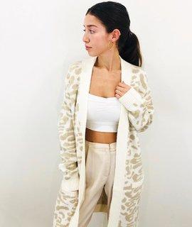 Lush Clothing Lush Leopard Cardi