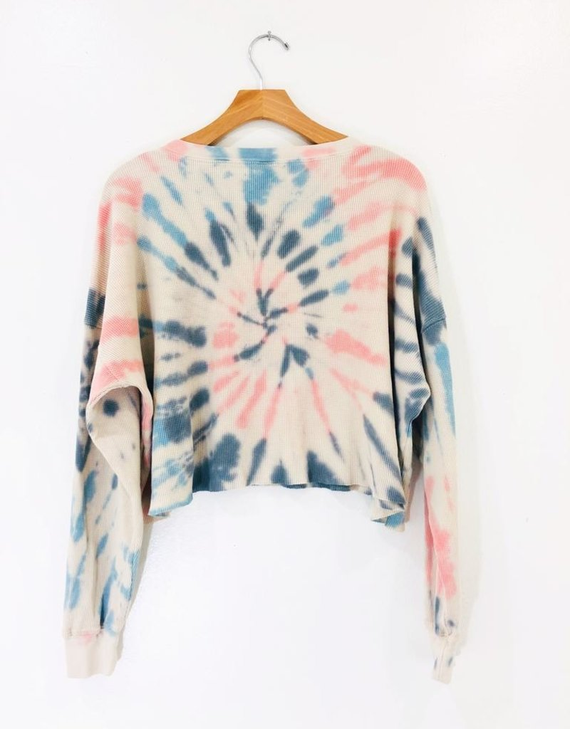 Trend Notes Trend Notes Tie Dye Sweater
