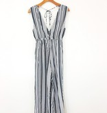 Saltwater Luxe Saltwater Luxe Fall Stripe Jumpsuit