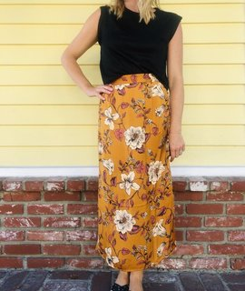 Saltwater Luxe Saltwater Luxe Merigold Midi Skirt