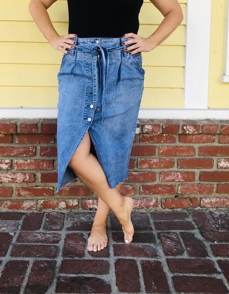 Trend Notes Trend Notes Denim Skirt