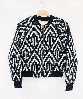 Saltwater Luxe Saltwater Luxe Crossfire Jacket Sweater