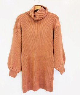 Lush Clothing Lush Turtle Neck Sweater Dress