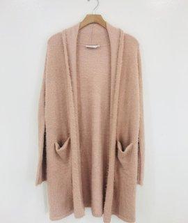 Lush Clothing Lush Fuzzy Knit Cardigan