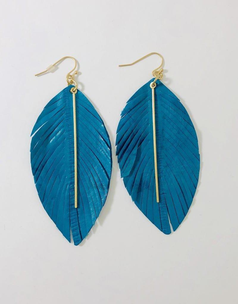 Fashionistar Metal Fringe Earrings