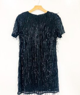 Lush Clothing Lush Sequin Shift Dress