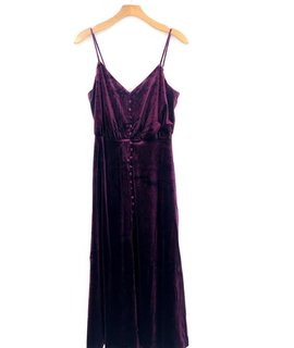 Lush Clothing Lush Velveteen Dress