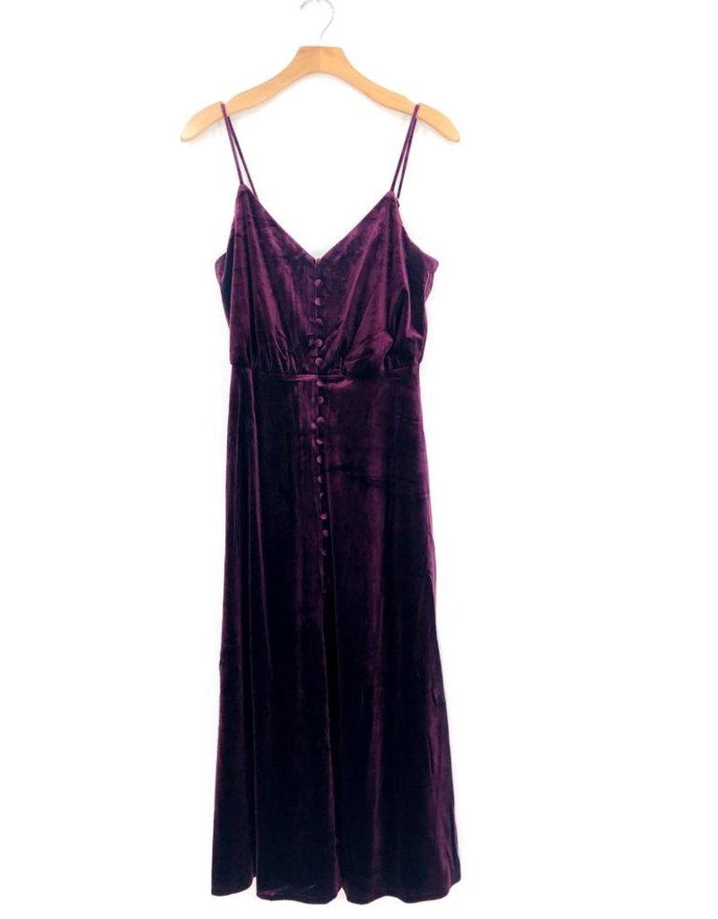 Lush Clothing Lush Velveteen Dress
