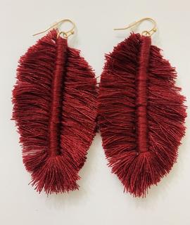 Fashionistar Fishtail Fringe Earrings
