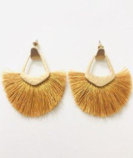 Fashionistar Tassel Post Earrings
