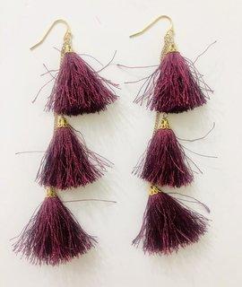 Tribe Jewelry Tribe Fiesta Tassel Earrings