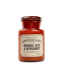 Paddywax Paddywax Apothecary Orange Zest & Bergamot