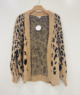 Trend Notes Lala Leopard Cardigan