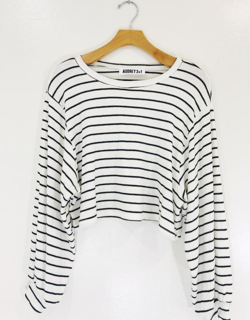 Audrey 3+1 Sunday Crop Long Sleeve