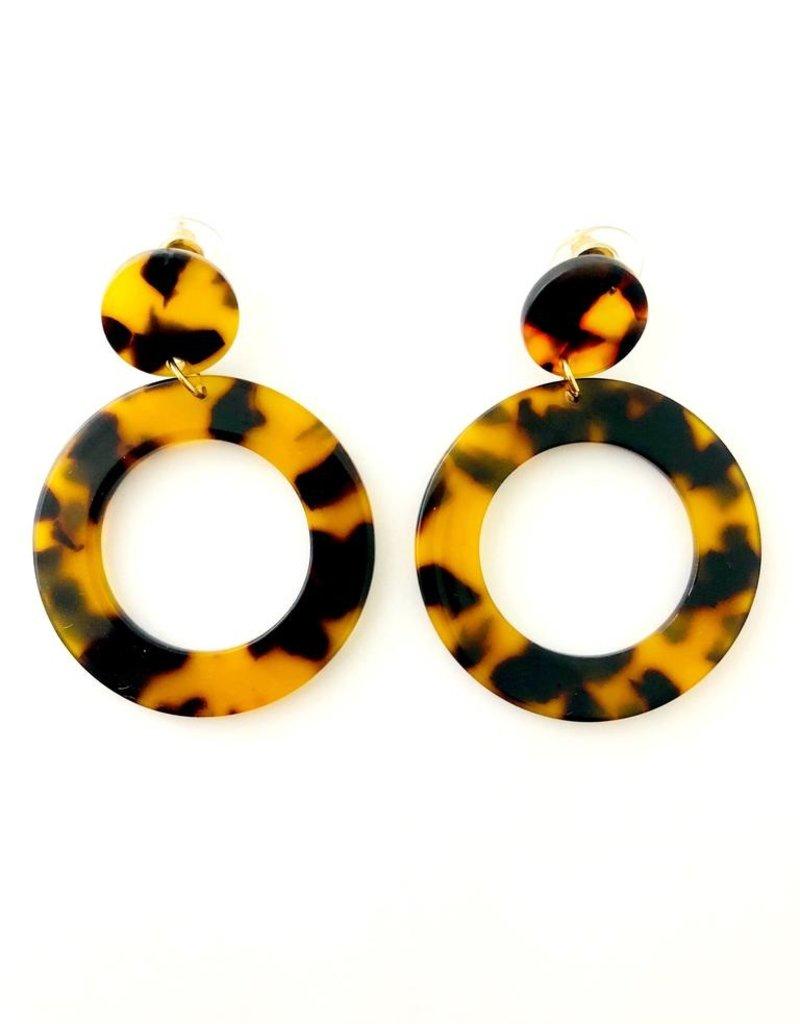 Fashionistar Acetate Drop Earring