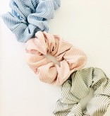Fashionistar Striped Scrunchie