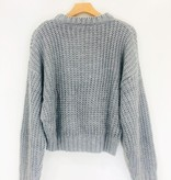 Lush Clothing Cotton Candy Clouds Sweater