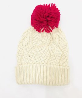 Trend Notes Trend Notes Pom Pom Knit Beanie