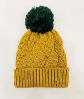 Trend Notes Pom Pom Knitted Beanie