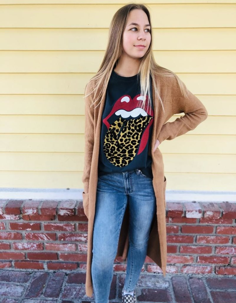 Daydreamer Daydreamer Rolling Stones Leopard Tongue Tour Tee