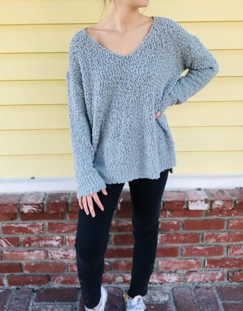 Trend Notes Trend Notes Popcorn Sweater