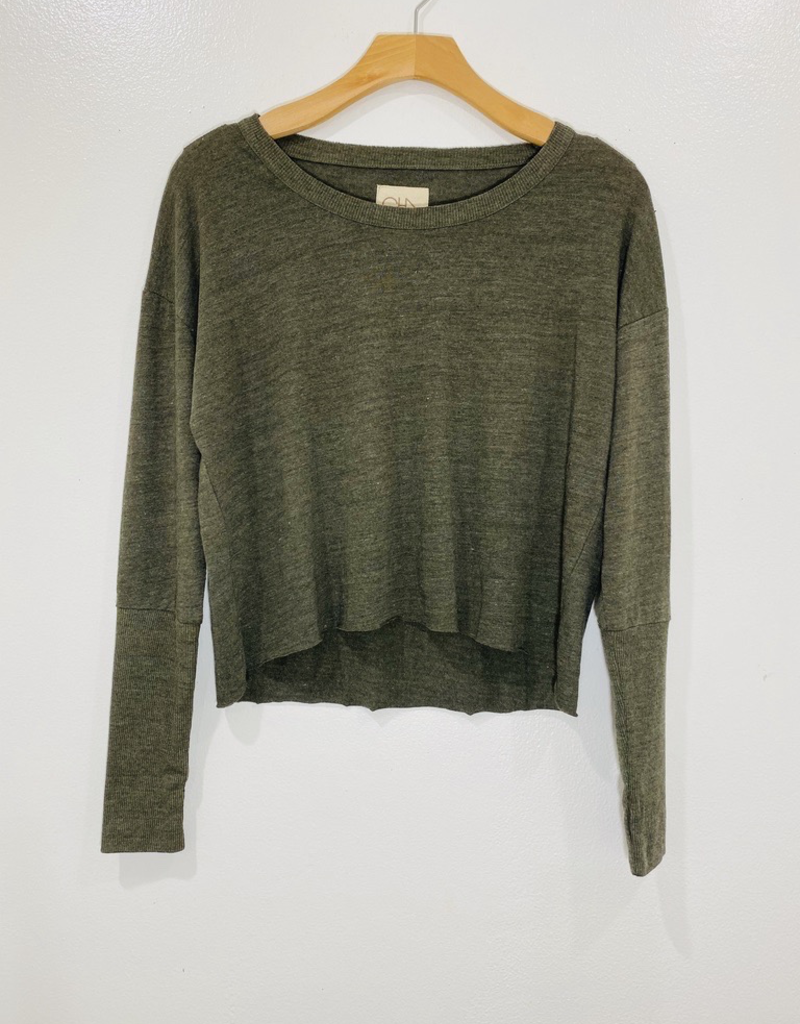 Chaser Brand Chaser Cropped Long Sleeve
