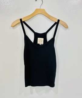 Chaser Brand Chaser Ribbed Cropped Cami
