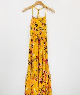 Lush Clothing Beachside Floral Dress
