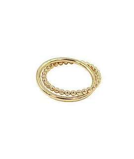 Paradigm Design Beaded Interlock Ring