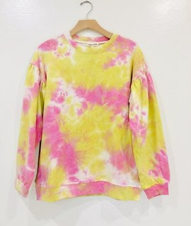 Trend Notes Seeking Sunshine Tie Dye Sweater