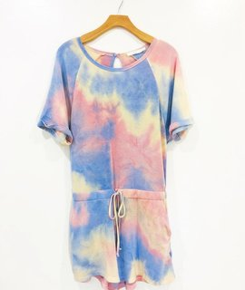 Lush Clothing Frency Terry Romper