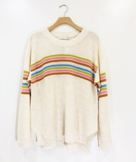 Lush Clothing Retro Stripe Sweater