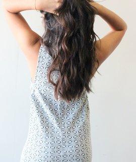 Lush Clothing Mod Woven Cutout Dress