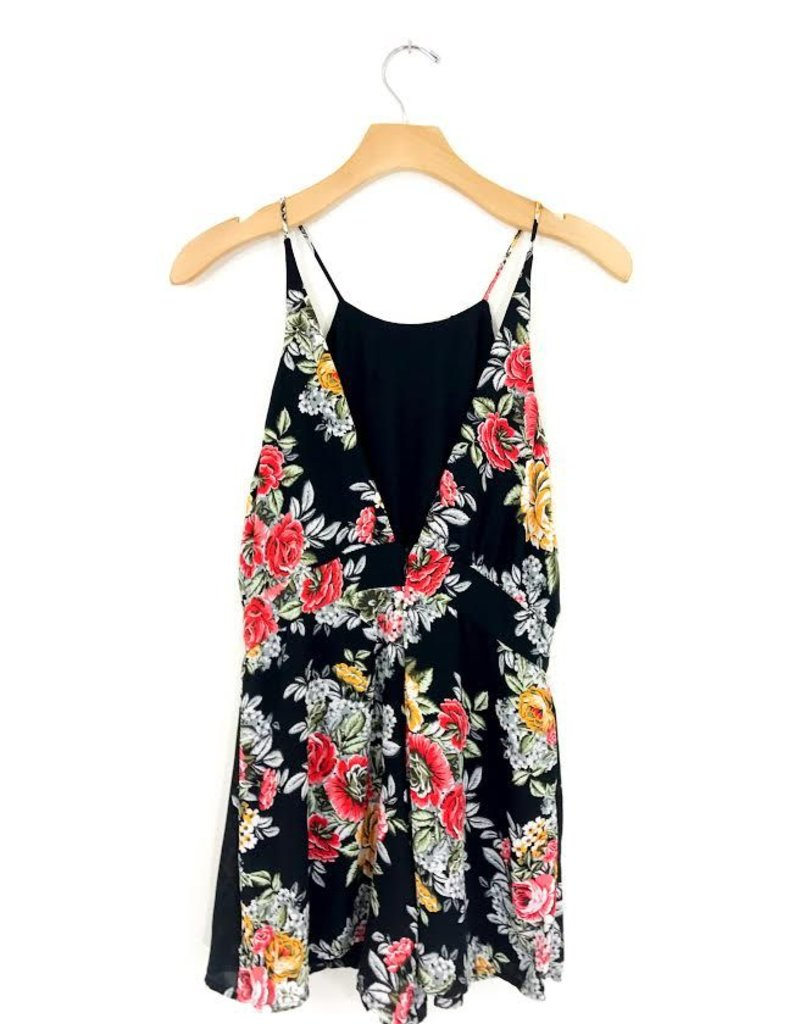 Lucy Love Lucy Love Sadie Open Back Romper