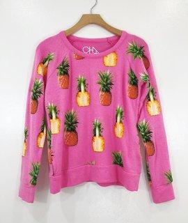 Chaser Brand Chaser Pink Pinas Raglan Pullover