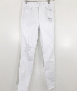 Level 99 Level 99 Janie High Rise Skinny Cut Raw Hem