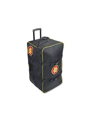 "OMS OMS Roller Bag ""Vintage"" Yellow/Red Logo"
