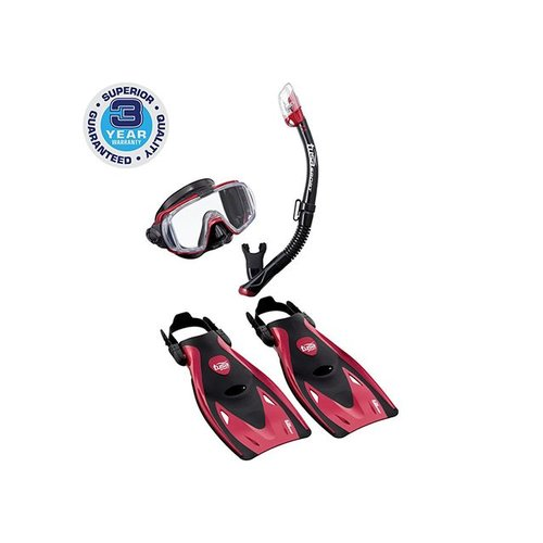 TUSA TUSA VISIO TRI-EX ADULT BLACK SERIES TRAVEL SET