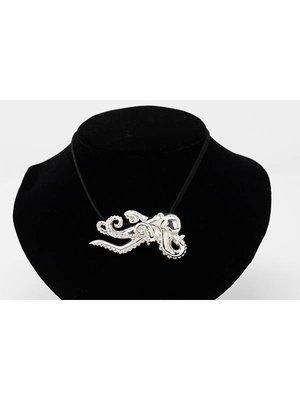 Nautilus Jewelry NAUTILUS JEWELRY LARGE OCTOPUS PENDANT SILVER