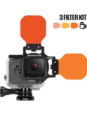 Backscatter BACKSCATTER FLIP7 3 FILTER KIT WITH SHALLOW, DIVE AND DEEP FILTERS