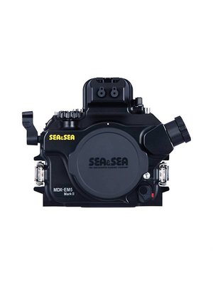 Sea & Sea SEA&SEA MDX-EM5 MK II HOUSING for Olympus OM-D E-M5 Mark II Mirrorless Digital Camera