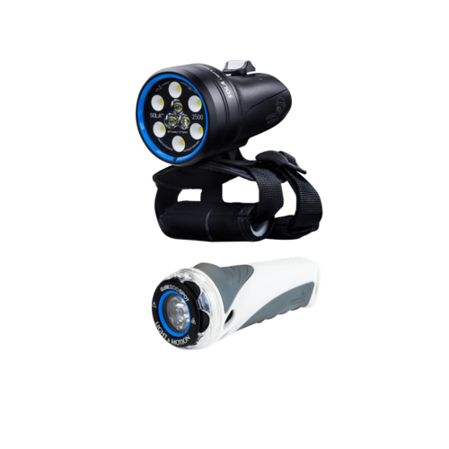 Light&Motion LIGHT&MOTION SOLA 2500 S/F COMBO (INCLUDES GOBE S 500 SPOT)