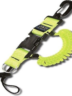 Cetacea CETACEA LANYARD BC-QR 36'' w/split ring + cord & lock