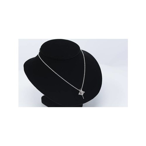 Nautilus Jewelry NAUTILUS JEWELRY MANTA RAY PENDANT SILVER W/CHAIN