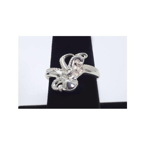 Nautilus Jewelry NAUTILUS JEWELRY OCTOPUS RING SILVER