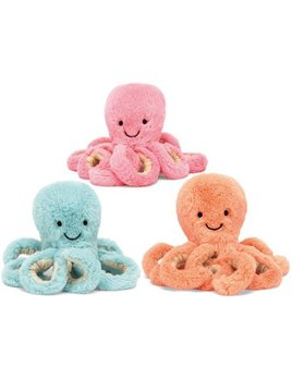 TOY Pastel Baby Octopus