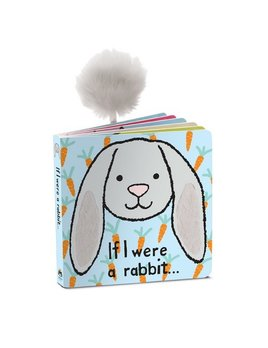 BOOK If I Were a Rabbit Book - Grey