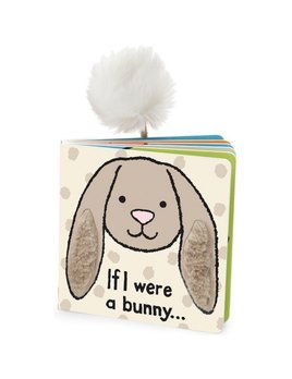 BOOK If I Were a Bunny Book - Beige